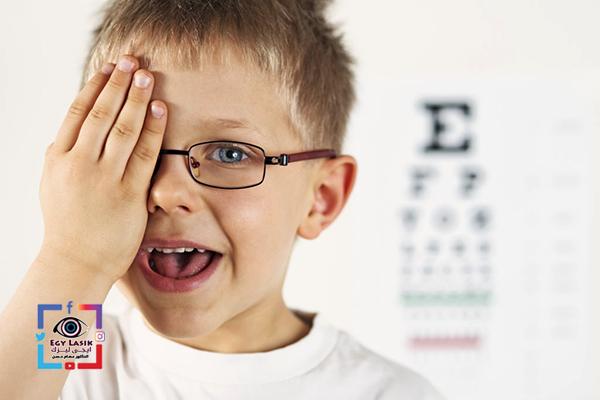 كسل العين عند الاطفال